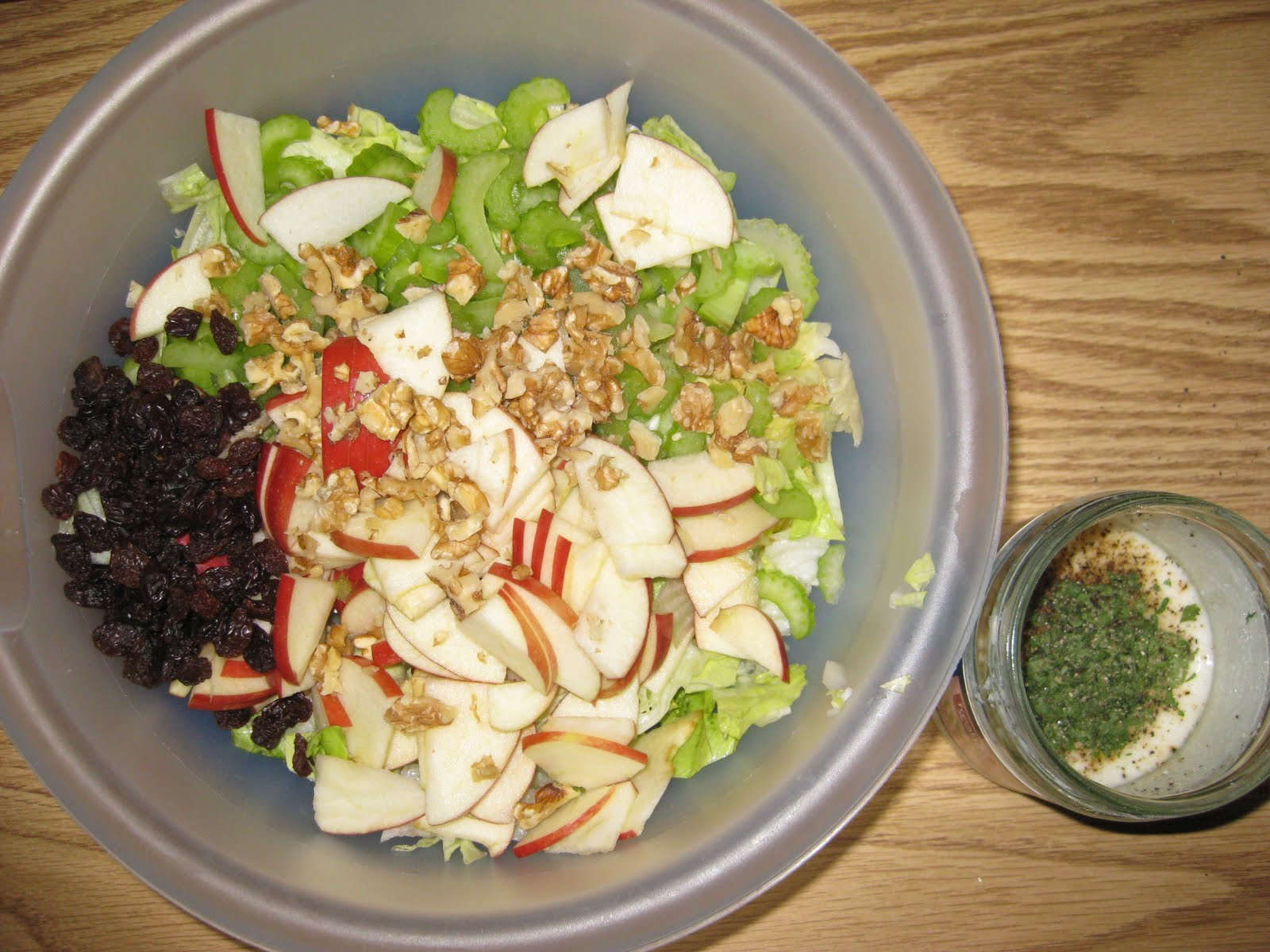A Little Donnerwetter Yummy Spring Apple Salad With