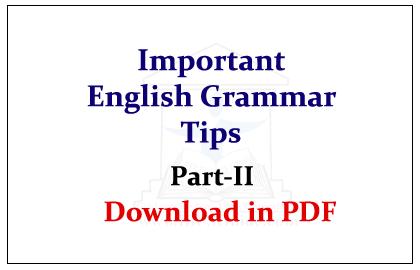 Complete English Grammar Rules Pdf