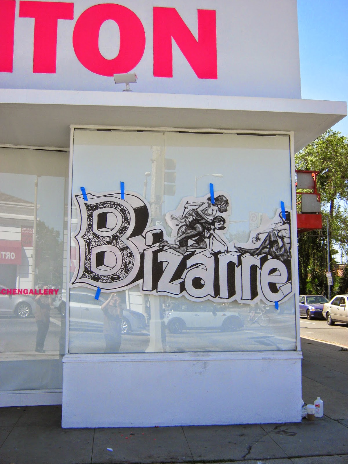 "The Eric Stanton (and Elmer Batters) ""Bizarre Life"" exhibit at TASCHEN GALLERY, Los Angeles, CA"