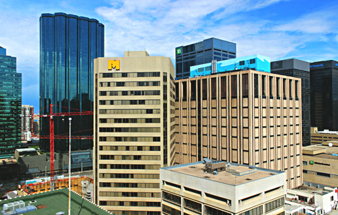 Downtown Edmonton Alberta
