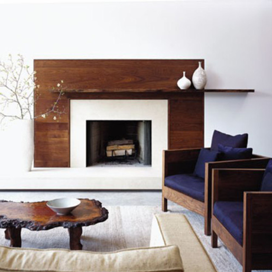 Rustic And Modern Fireplace: Fireplace Restyle * Dicas Em
