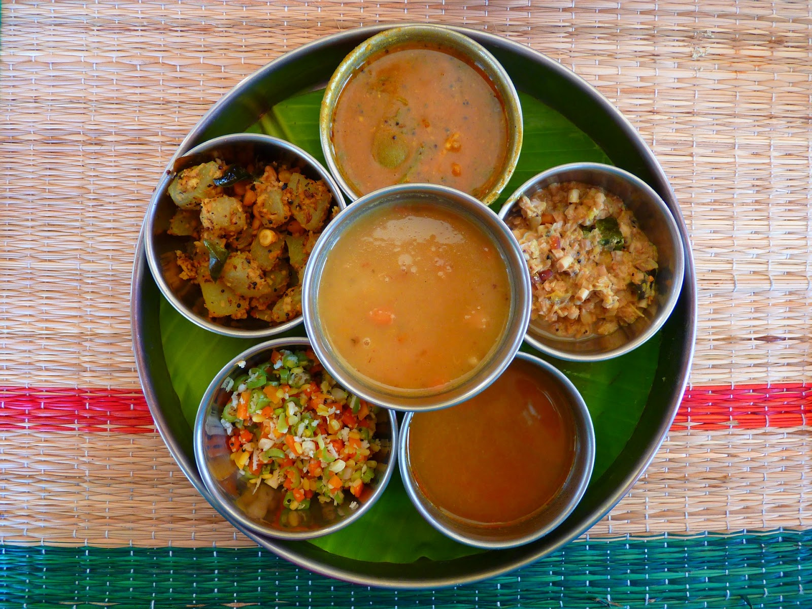 Easy Ways of Funding Asia local food south inidian thali india