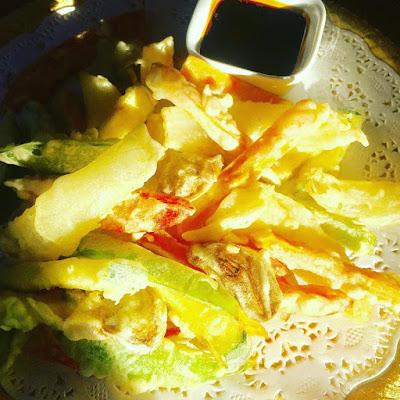 tempura, yangao,