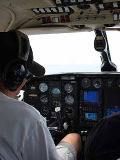 Captain Billy At The Controls.