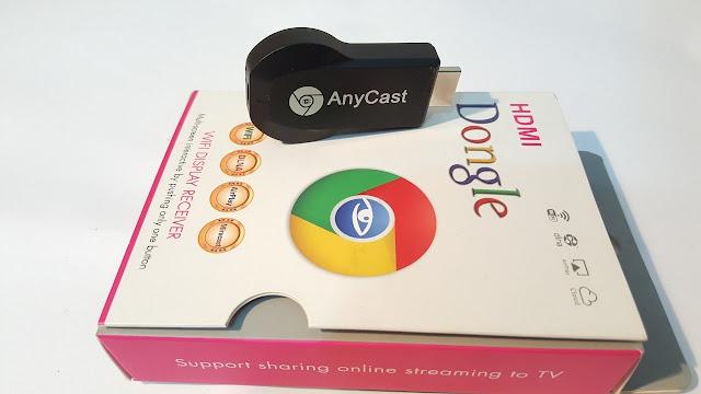 كيفية ربط دانغل anycast  وعرض كل محتوى الهاتف على شاشة التلفاز