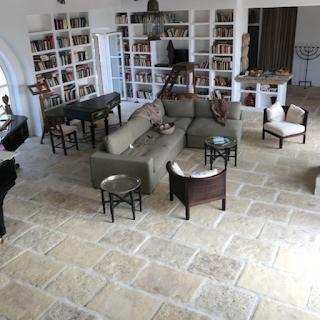 carrelage béton pierre salon Portugal