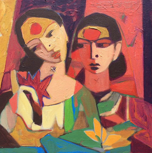 5th Dec. – 17th Dec. 2016: Pradarshak presents Solo Exhibition of semi-abstract figurative paintings by Sanjiivv Sankpal