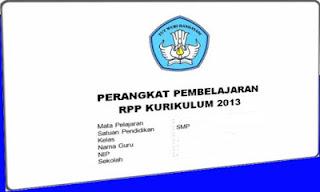 RPP Matematika Kelas 7 Kurikulum 2013 Revisi 2017