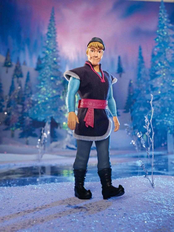 All Things Children Disney Frozen Sparkle Kristoff Doll