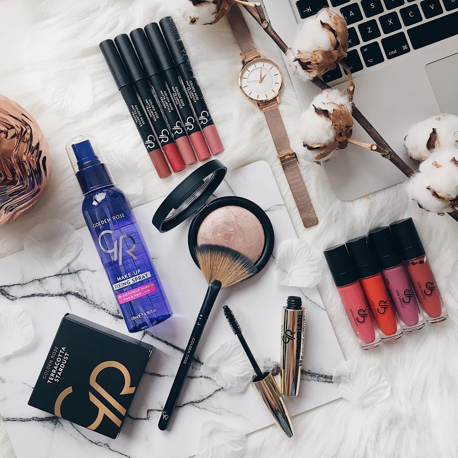 Golden Rose Matte Lipsticks