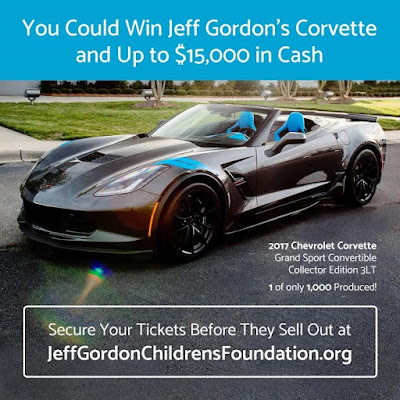 #Win Jeff Gordon's Corvette