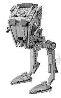 LEGO Star Wars Rogue One Building Sets AT-ST Walker