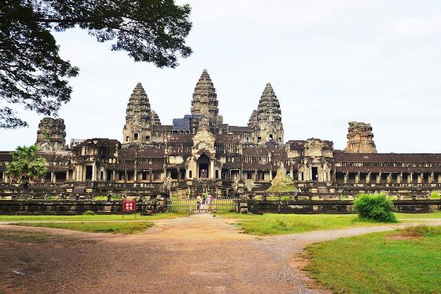 Изображение башен Храма Ангкор Ват, Камбоджа,Сием Рип