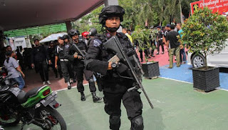 Kepolisian dan TNI Siaga di Rutan Pekanbaru Karena Kembali Rusuh