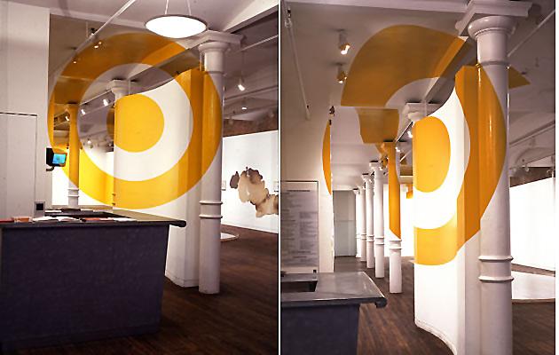 Dekorasyonda Optik Yanılsama Anamorfik Yuvarlaklar