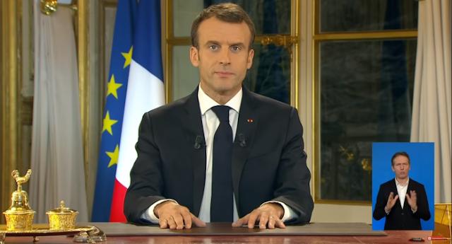 Президент Франции ввел чрезвычайное положение и обратился к нации (Видео)