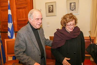 Ηράκλειο: Ενετικά τείχη και μνημεία στη συνάντηση Λαμπρινού – Βλαζάκη
