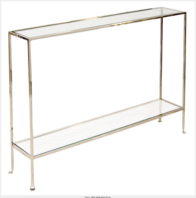 Awesome Narrow Glass Console Table Trends