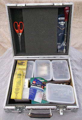 Image of a small flight case internal view