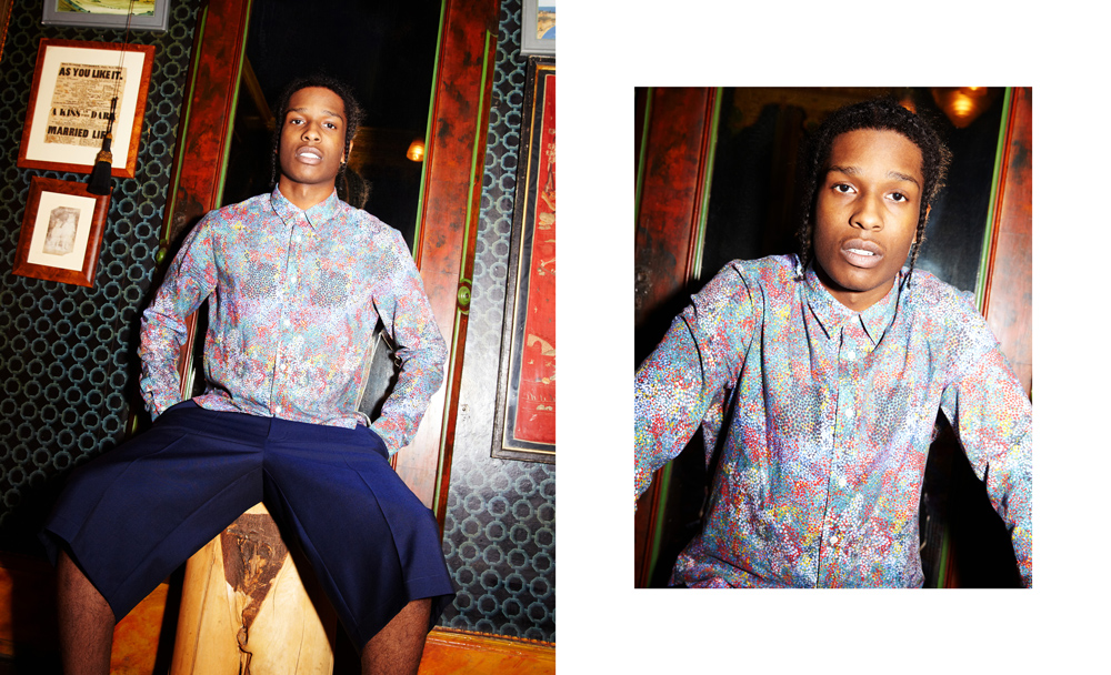 9bd15d3e4e ... but on his recent visit to London we invited the New York rapper to try  out a selection of other oki-ni brands including new SS13 pieces from  Margiela