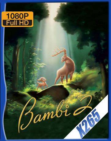 Bambi II [2006] [Latino] [1080P] [X265] [10Bits][ChrisHD]