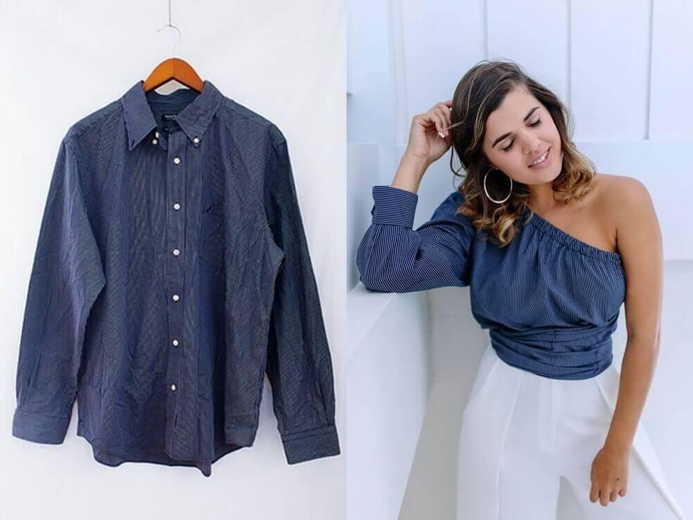 como customizar blusas velhas