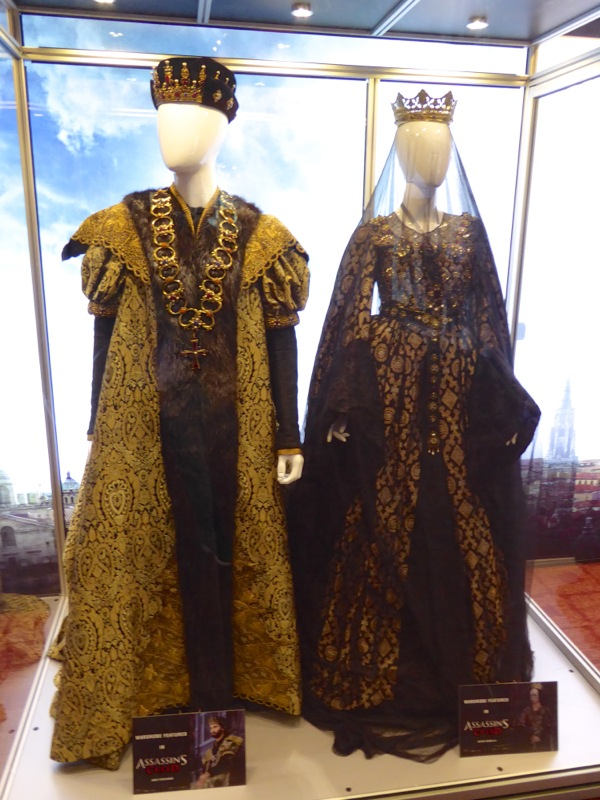 King Ferdinand Queen Isabella movie costumes Assassins Creed