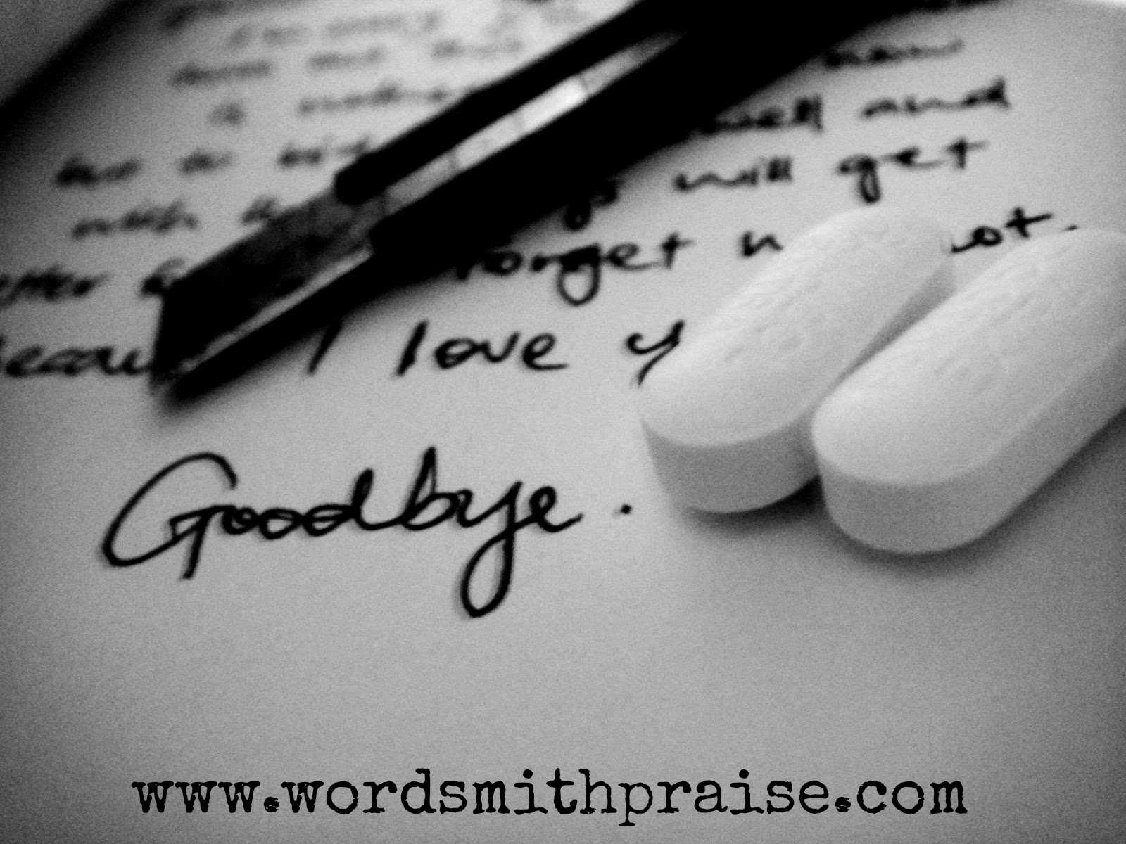Suicide Note | A Poem By Charlotte Akello - WordSmithPraise
