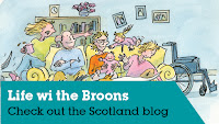 Life wi the Broons cartoon picture. MS Scotland link