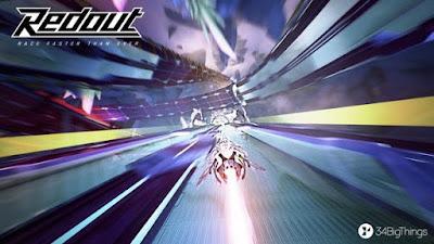 تجربة العبة سباق الطائرات في الفضاء Redout-CODEX