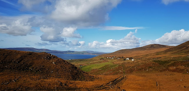 Ring od Kerry on the road in europa
