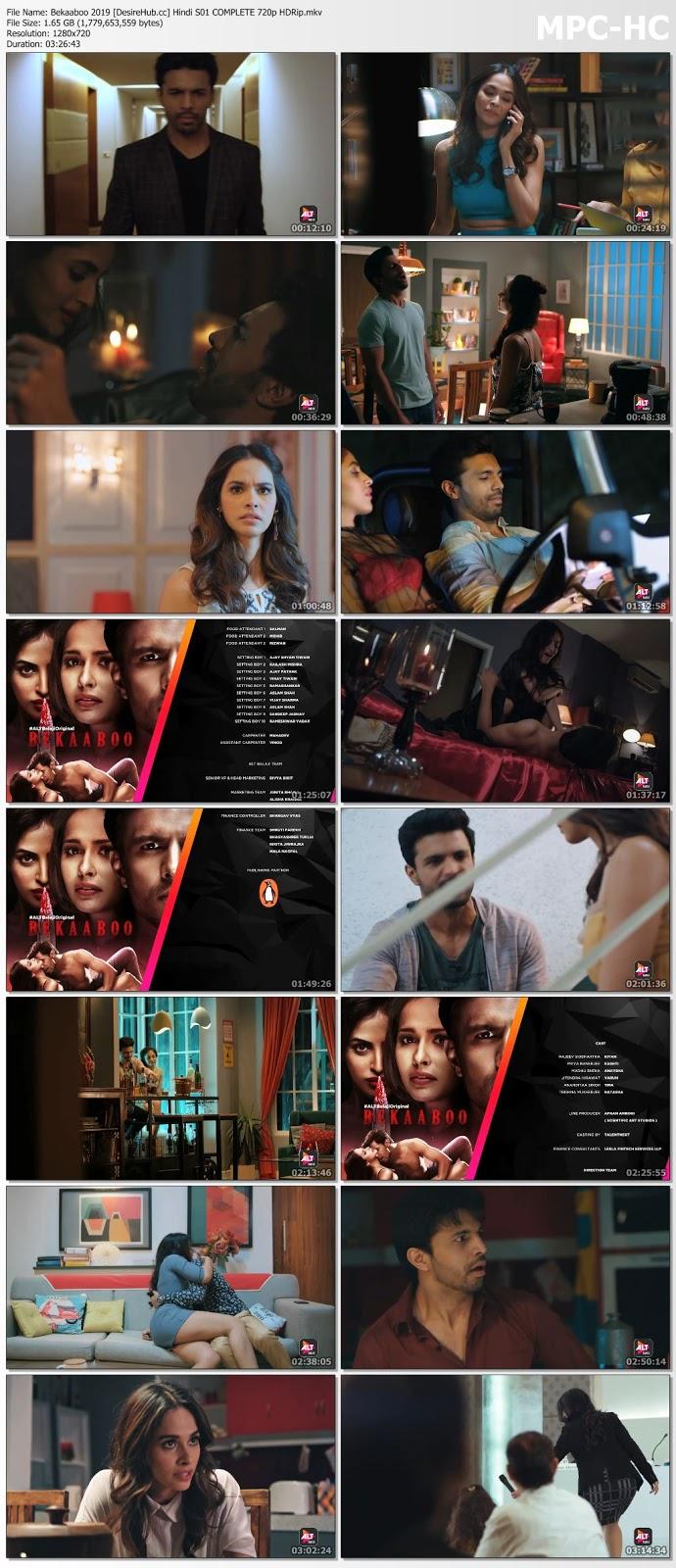 Bekaaboo 2019 Hindi S01 Complete 720p HDRip 1.7GB Desirehub
