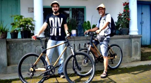 sepeda bambu dari Temanggung