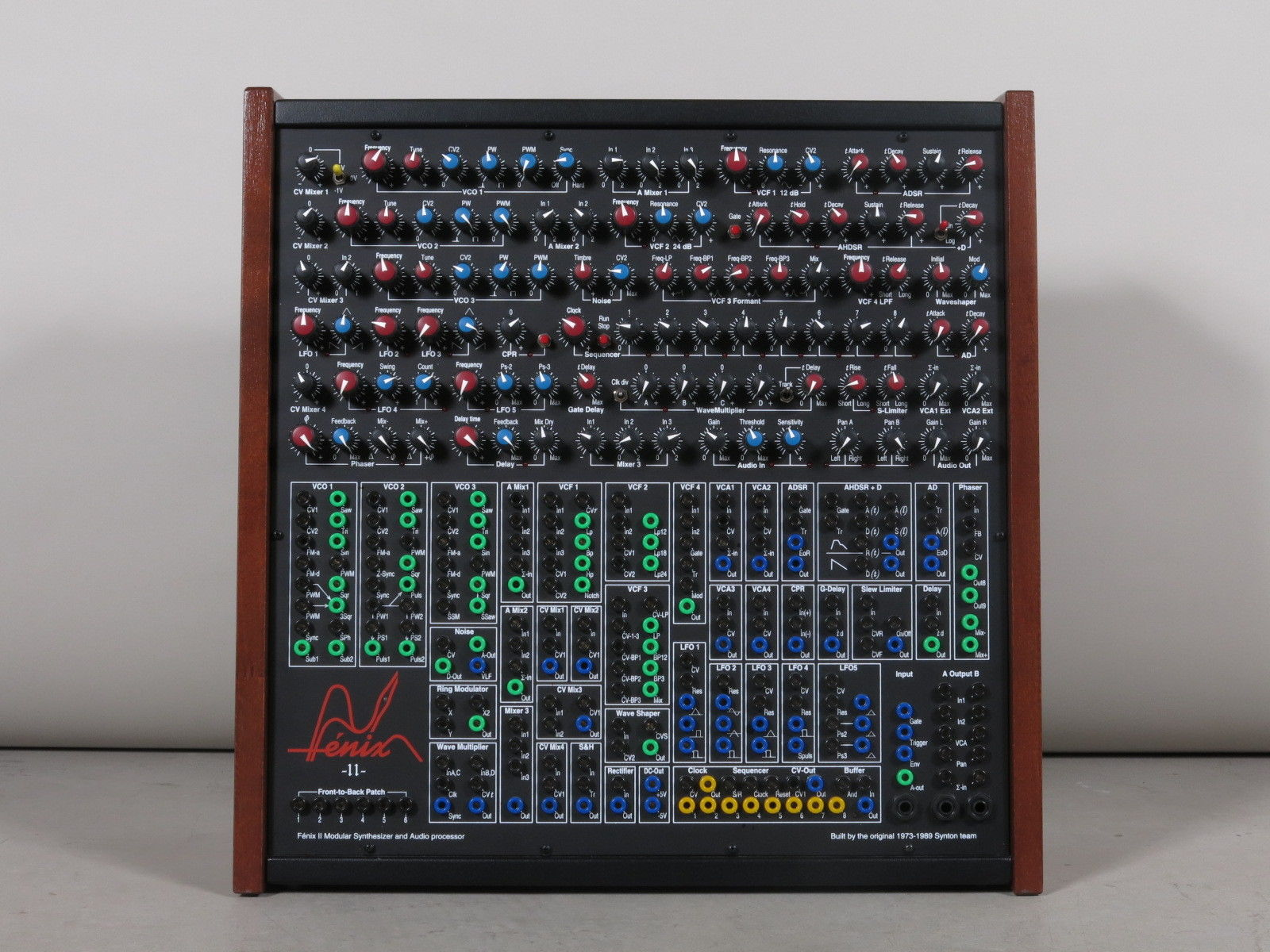 matrixsynth f nix ii modular synthesizer built by the synton team manual spare part kits. Black Bedroom Furniture Sets. Home Design Ideas