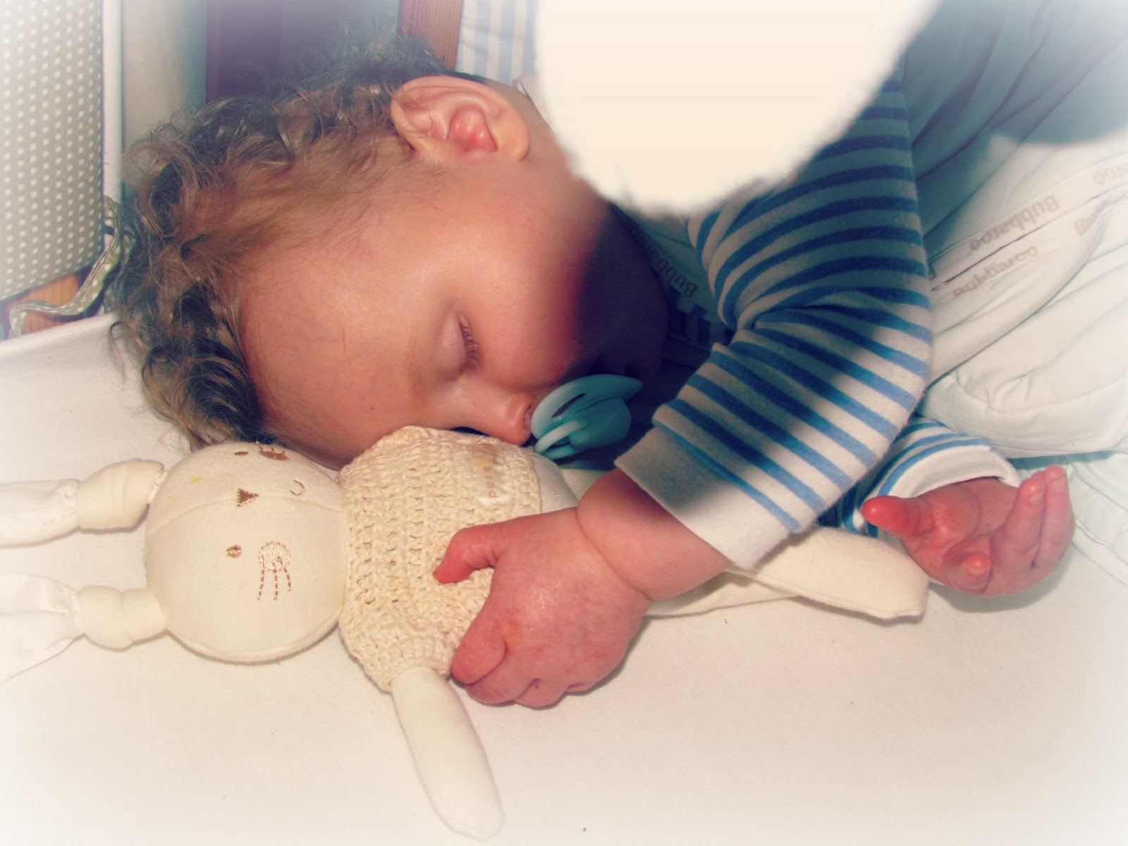 Project365 Picture Number 1 - My Poorly Sleeping Baby ♥ | Dolly Dowsie
