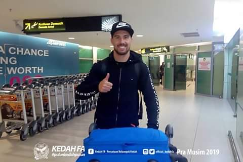 Biodata Jonathan Bauman Pemain Import Baru Kedah 2019