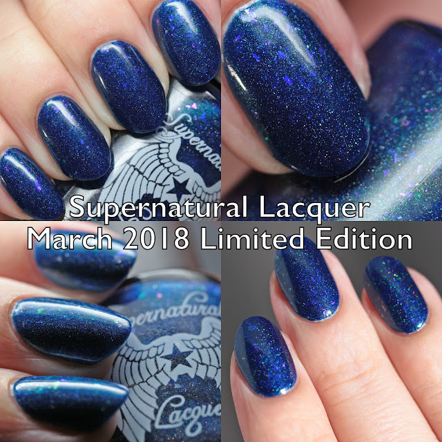 Supernatural Lacquer March 2018 Limited Edition