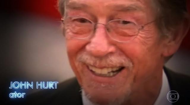 John Hurt, intérprete de Sr. Olivaras, é lembrado na Retrospectiva 2017 da Globo | Ordem da Fênix Brasileira