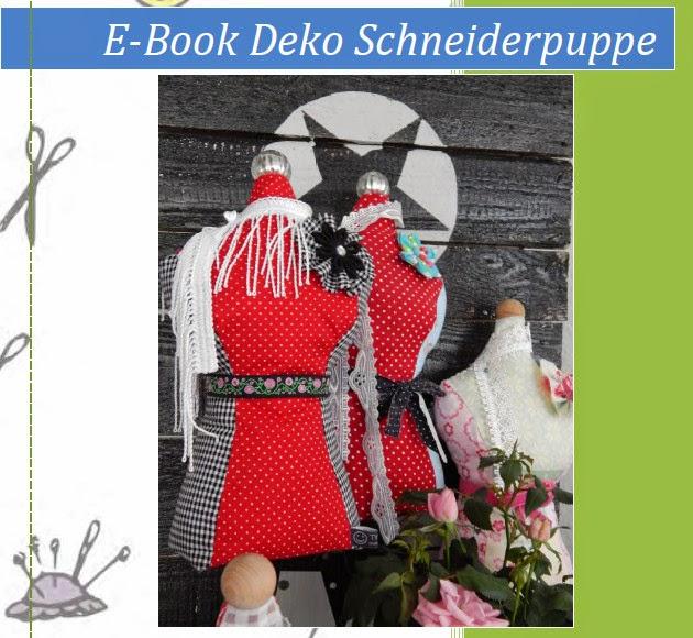 zuhause manufaktur e book deko schneiderpuppe. Black Bedroom Furniture Sets. Home Design Ideas
