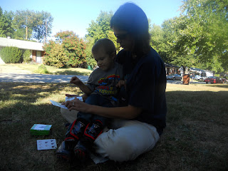 teaching child to count to 10