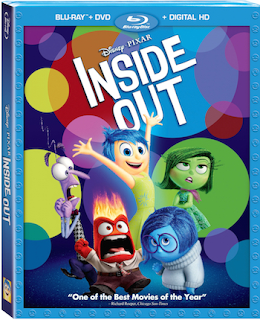 Disney Pixar's Inside Out Blu-ray