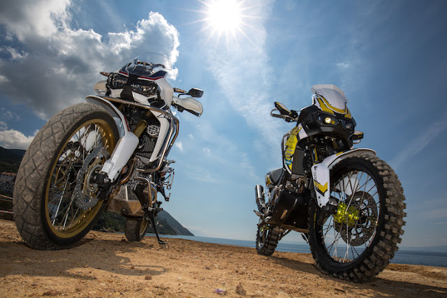 Touratech Africa Twin Rally