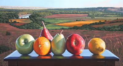 cuadro-de-frutas-en-mesa-con-paisaje-james-borges