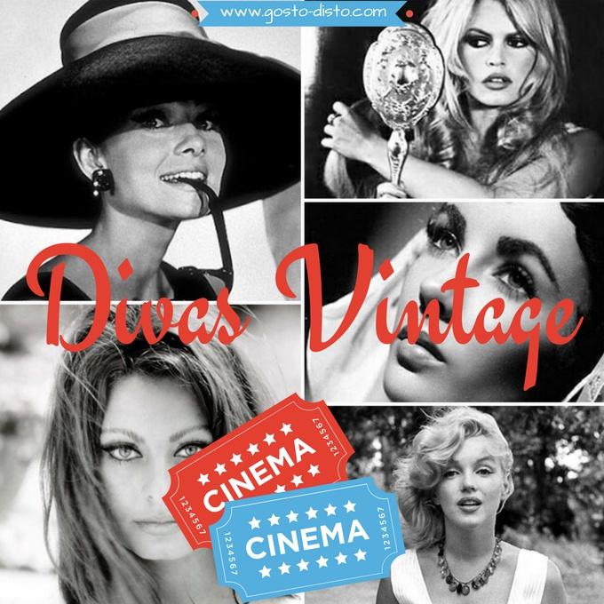 Divas vintage do cinema no instagram