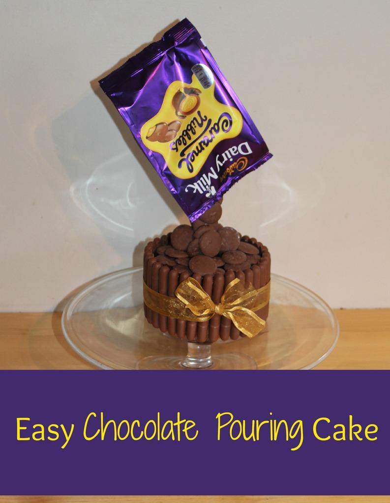 Chocolate Sponge Cake Using Melted Chocolate