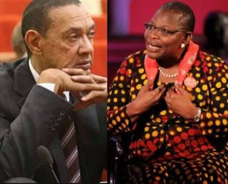 Ben Bruce and Oby Ezekwesili