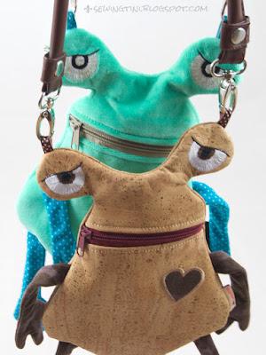 Plaudertaschen aus Nicky und Kork