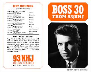 KHJ Boss 30 No. 10 - Roger Christian