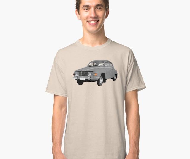 saab 96 classic t-shirts