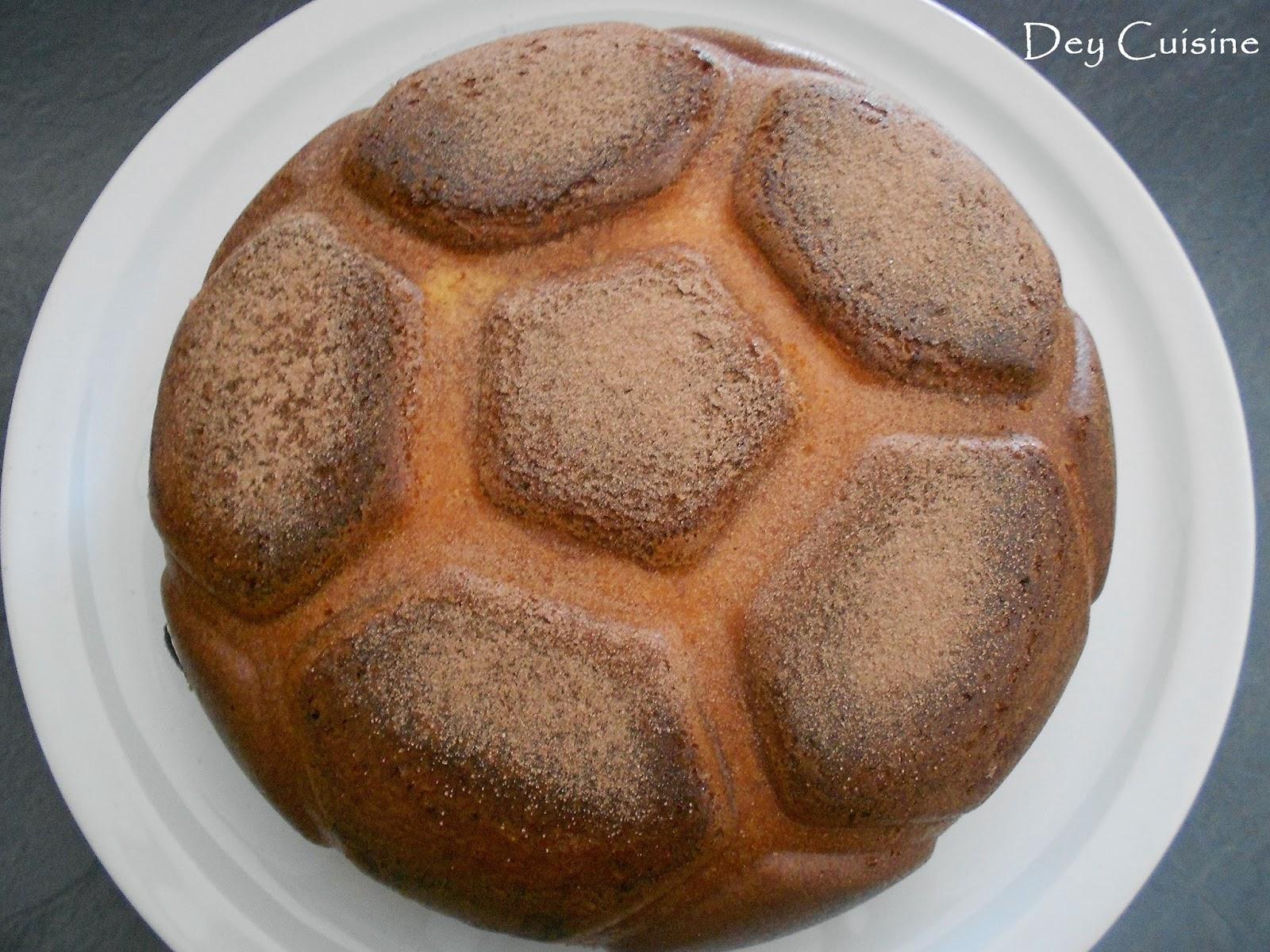 Souvent Dey cuisine: Gâteau ballon de foot - Moule Tupperware VC73